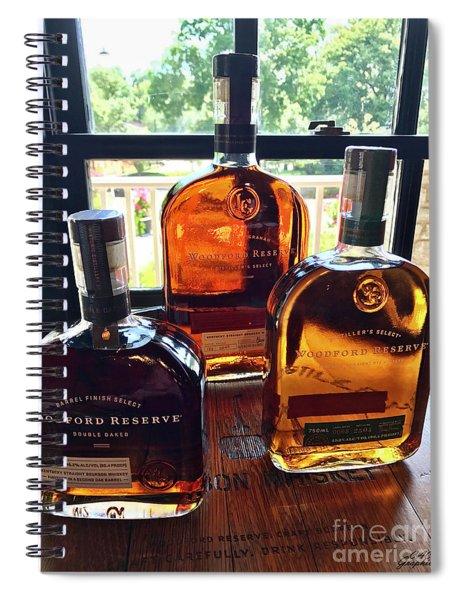 Golden Bourbon Spiral Notebook