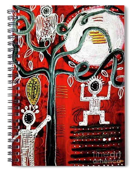 Golden Fruit Spiral Notebook