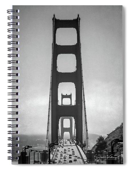 Golden Gate Spiral Notebook