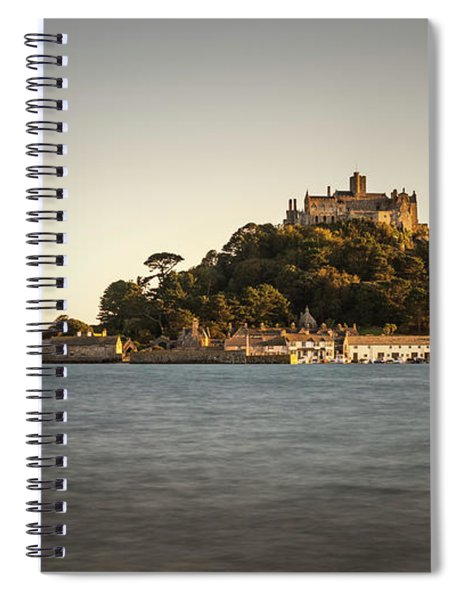 Golden Hour At St Michael's Mount Spiral Notebook
