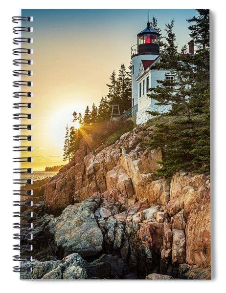 Golden Hour In Acadia Spiral Notebook