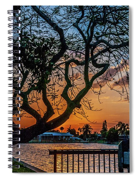 Golden Hour Spiral Notebook by Louis Dallara