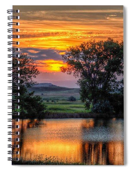 Golden Pond Spiral Notebook