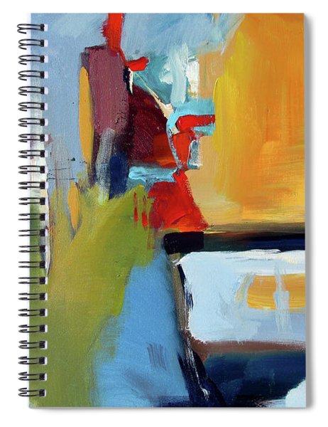 Golden Way Spiral Notebook