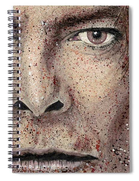 Golden Years - Bowie Close Up Spiral Notebook