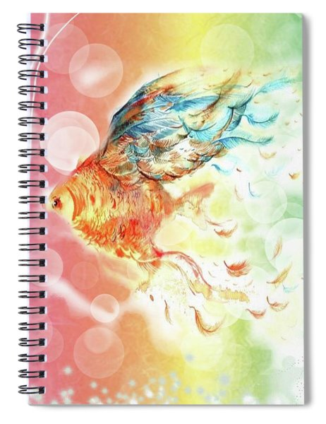 Goldfin Spiral Notebook
