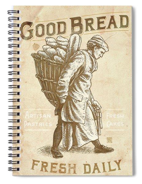 Good Bread Spiral Notebook