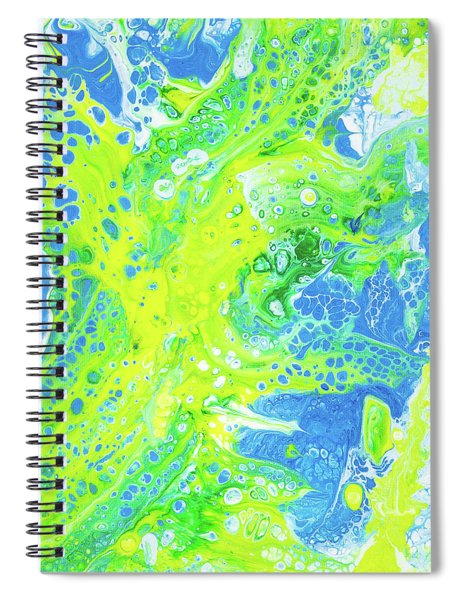 Spiral Notebook featuring the painting Good Day In Maui by Lisa Smith