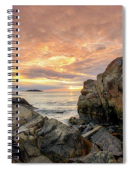 Good Harbor Rock View 1 Spiral Notebook