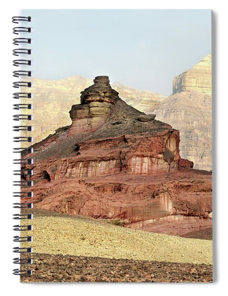 Spiral Notebook featuring the photograph Good Morning, Timna by Arik Baltinester