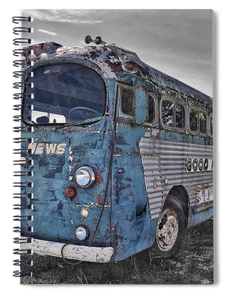 Spiral Notebook featuring the photograph Good News Still Travels by Andrea Platt
