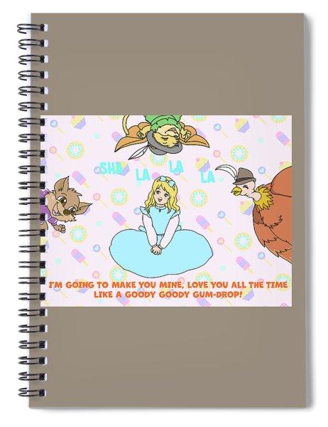 Goody Goody Gumdrop Video Spiral Notebook