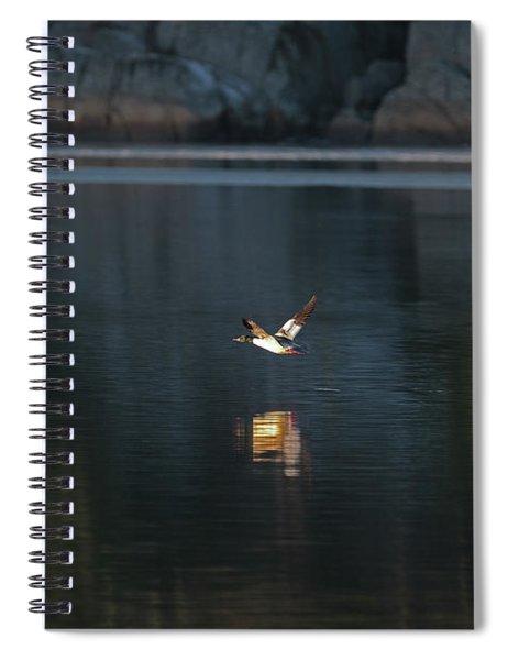 Goosander Spiral Notebook