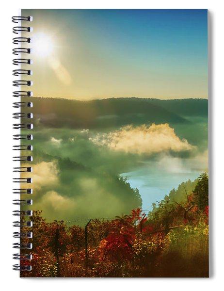 Gorge Sunrise Spiral Notebook