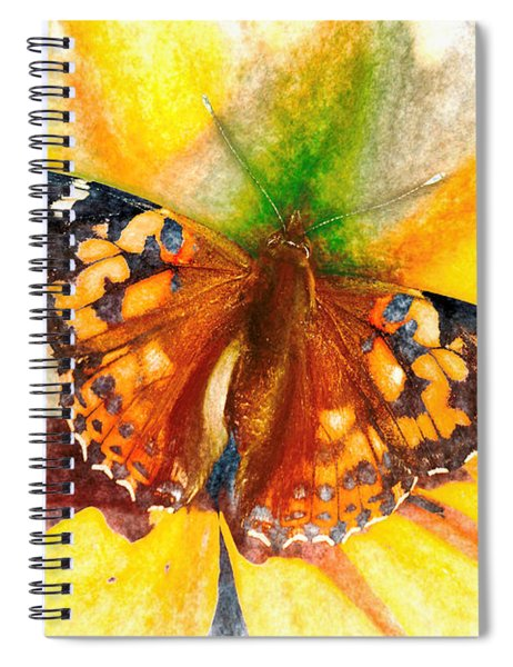 Gorgeous Painted Lady Butterfly Spiral Notebook