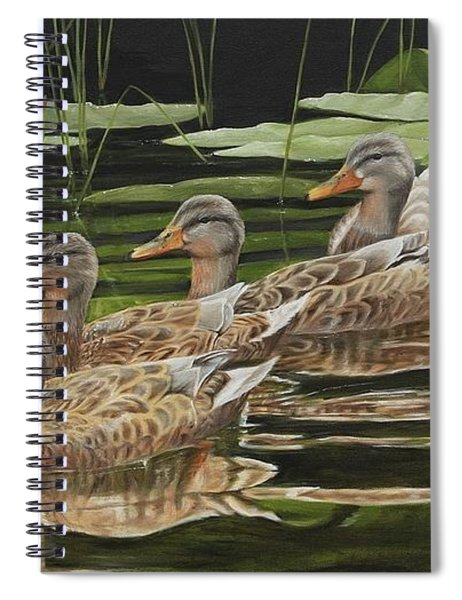 Got My Ducks In A Row Spiral Notebook
