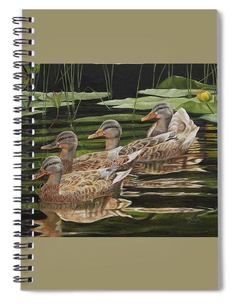 Got My Ducks In A Row Spiral Notebook
