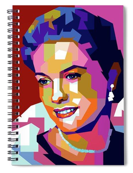 Grace Kelly Spiral Notebook