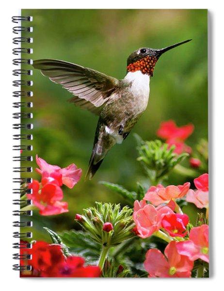 Graceful Garden Jewel Spiral Notebook