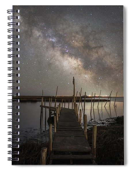 Grand Bay Milky Way  Spiral Notebook