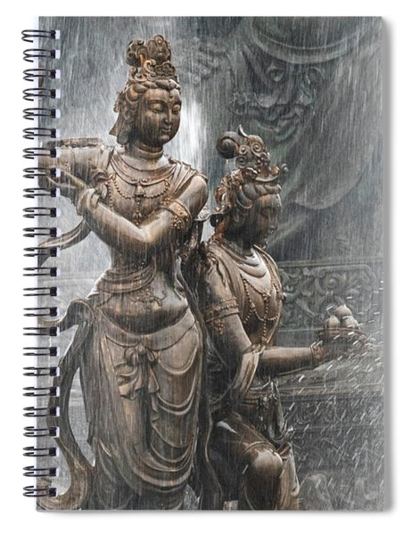 Grand Buddha Fountain Spiral Notebook