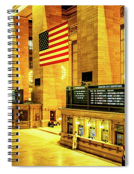 Grand Central Station Spiral Notebook