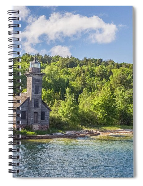 Grand Island East Channel Lighthouse Spiral Notebook