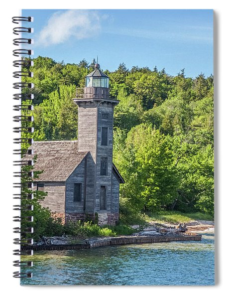 Grand Island East Channel Lighthouse, No. 2 Spiral Notebook