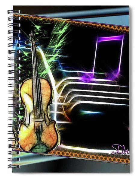 Grand Musicology Spiral Notebook