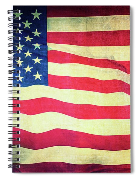 Grand Old Flag Spiral Notebook