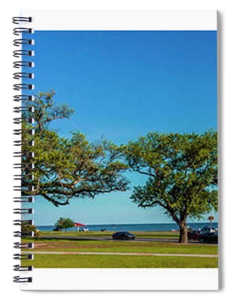 Grand Old Lighthouse Biloxi Ms Collage A1e Spiral Notebook