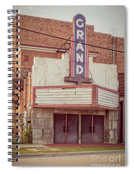 Grand Theatre Spiral Notebook