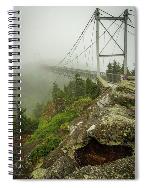 Grandfather Mountain Swinging Bridge Spiral Notebook