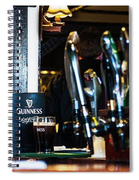 Grandma Was Irish Spiral Notebook by Edward Peterson