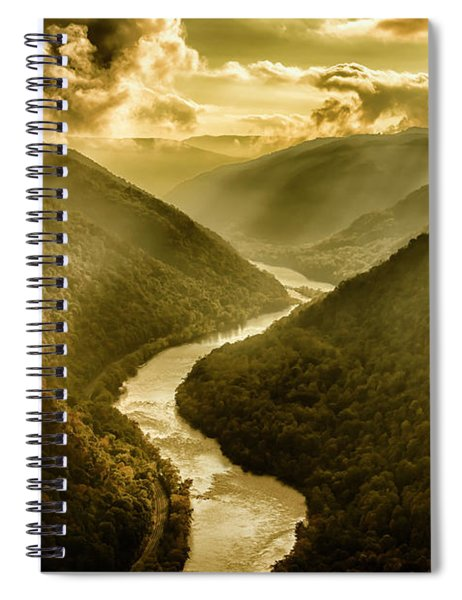 Grandview Morning Light Spiral Notebook