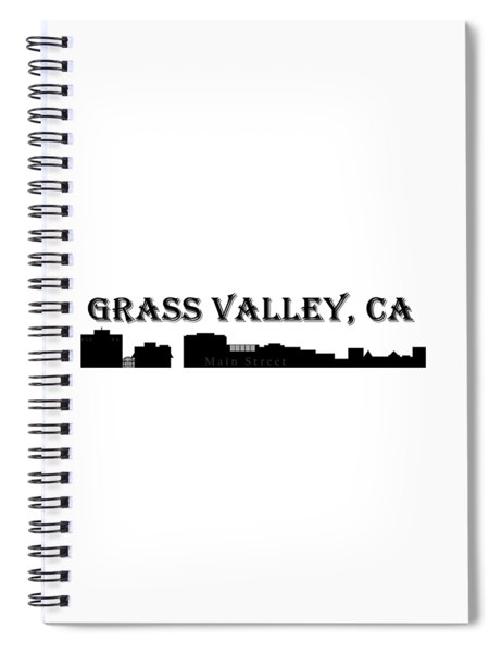 Grass Valley Skyline Spiral Notebook