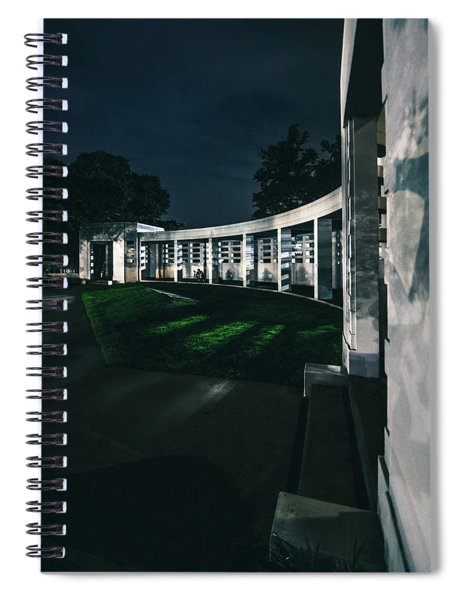 Grassy Knoll Spiral Notebook
