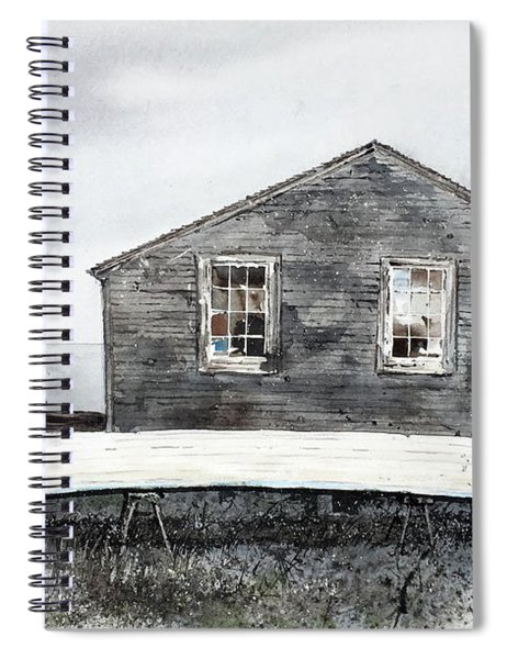 Gray Day Spiral Notebook