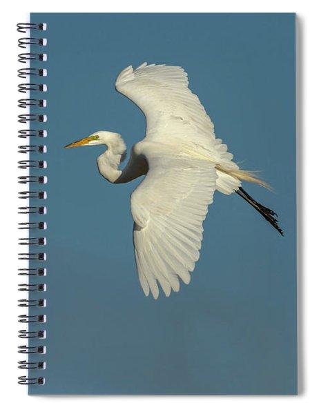 Great Egret 2014-9 Spiral Notebook
