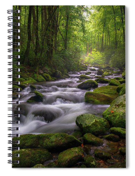 Great Smoky Mountains Gatlinburg Tennessee Spiral Notebook
