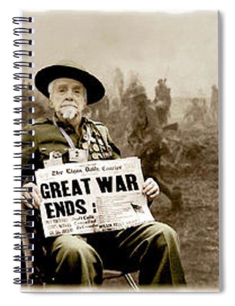 Great War Ends Spiral Notebook
