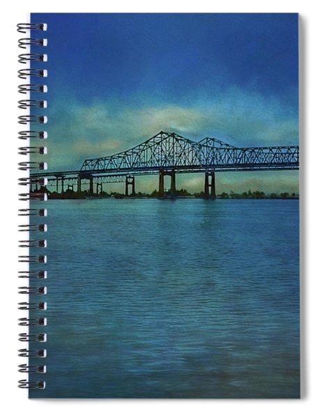 Greater New Orleans Bridge Spiral Notebook