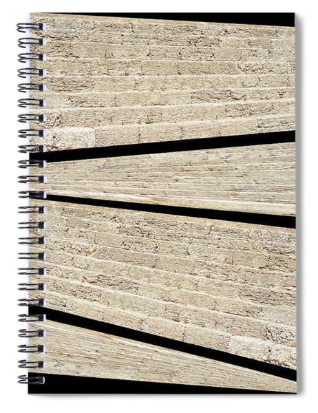 Greek Layers Spiral Notebook