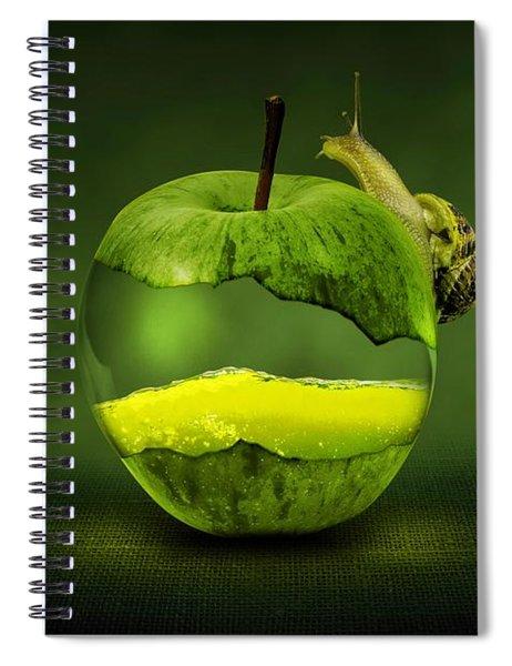 Green Apple Spiral Notebook