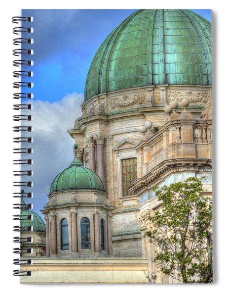 Green Dome's Of Italy Spiral Notebook