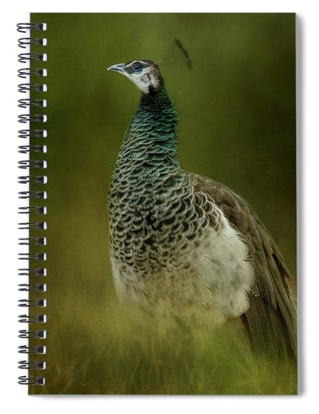 Green Gem In The Meadow  Spiral Notebook