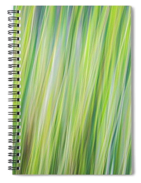 Green Grasses Spiral Notebook