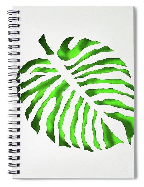 Green Monstra Spiral Notebook