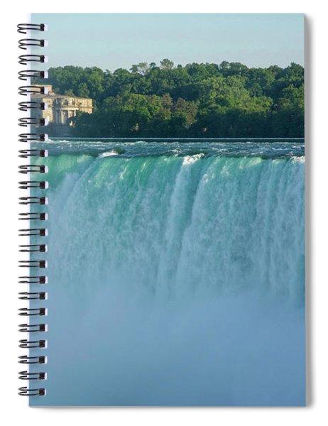 Green Overflow Spiral Notebook
