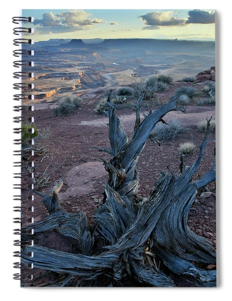 Green River From Overlook In Canyonlands Np Spiral Notebook